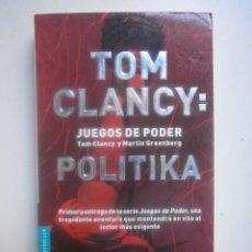 Libros de segunda mano - POLITIKA. TOM CLANCY - 70298269