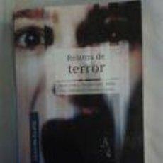 Libros de segunda mano: RELATOS DE TERROR -BRAN STOKER, MAUPASSANT, ALLAN POE, THÉOPOHILE GAUTIER Y OTROS. COLECCIÓN ECLIPSE. Lote 71063917