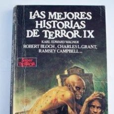 Libros de segunda mano: LAS MEJORES HISTORIAS DE TERROR IX - 12 HISTORIAS - 165 PAGINAS - 1988 - EDICIONES MARTINEZ ROCA. Lote 71730155