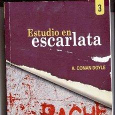 Libros de segunda mano: ESTUDIO EN ESCARLATA / ARTHUR CONAN DOYLE / RACHE 2010. Lote 72285177