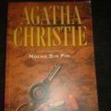 Libros de segunda mano: NOCHE SIN FIN -AGATHA CRISTIE-PLANETA DEAGOSTINI. Lote 72370019