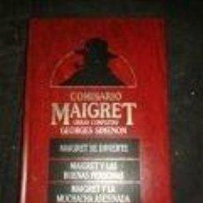 Libros de segunda mano: COMISARIO MAIGRET-OBRA COMPLETAS TOMO 3-GEORGES SIMEON-. Lote 72422303