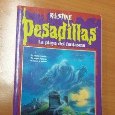 Libros de segunda mano: PESADILLAS Nº32, LA PLAYA DEL FASNTASMA , R.L. STINE. Lote 72696283