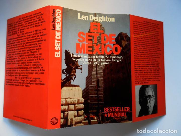Libros de segunda mano: Deighton. La trilogía: Juego Berlín, Set México y Partido Londres. Len Deighton. Guerra de espías - Foto 8 - 72818483