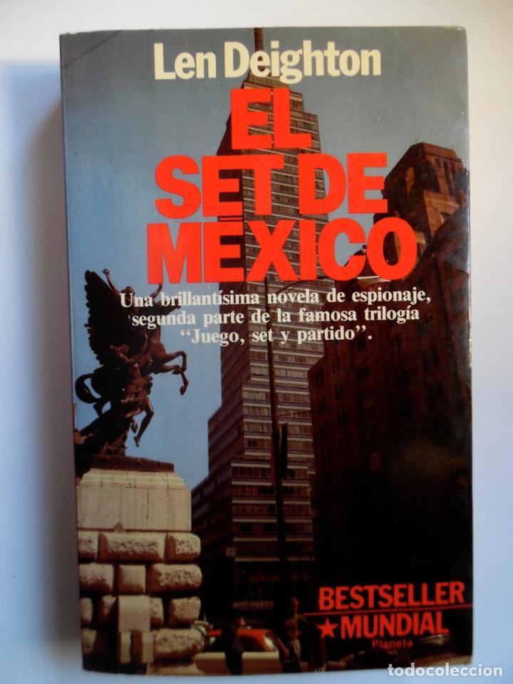 Libros de segunda mano: Deighton. La trilogía: Juego Berlín, Set México y Partido Londres. Len Deighton. Guerra de espías - Foto 11 - 72818483