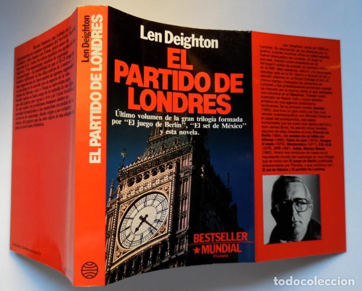 Libros de segunda mano: Deighton. La trilogía: Juego Berlín, Set México y Partido Londres. Len Deighton. Guerra de espías - Foto 12 - 72818483