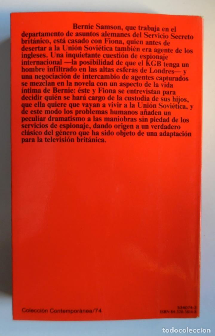 Libros de segunda mano: Deighton. La trilogía: Juego Berlín, Set México y Partido Londres. Len Deighton. Guerra de espías - Foto 13 - 72818483