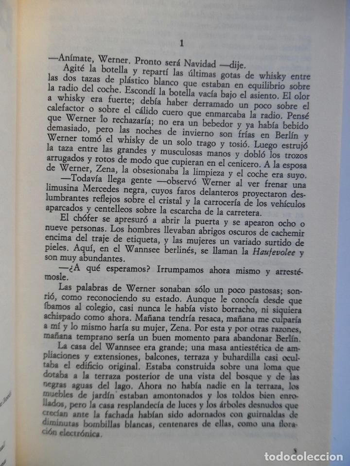 Libros de segunda mano: Deighton. La trilogía: Juego Berlín, Set México y Partido Londres. Len Deighton. Guerra de espías - Foto 14 - 72818483