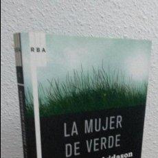 Libros de segunda mano: LA MUJER DE VERDE. ARNALDUR INDRIDASON.. Lote 72847603