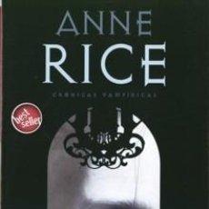 Libros de segunda mano: CRÓNICAS VAMPÍRICAS TRILOGÍA DE 3 LIBROS DE ANNE RICE. Lote 72994915