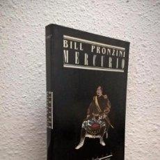 Libros de segunda mano: BILL PRONZINI, MERCURIO, ETIQUETA NEGRA JUCAR. Lote 73390243