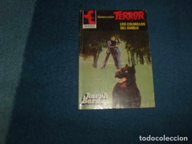 LOS COLMILLOS DEL DIABLO . SELECCION TERROR. JOSEPH BERNA (Libros de segunda mano (posteriores a 1936) - Literatura - Narrativa - Terror, Misterio y Policíaco)