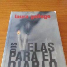 Libros de segunda mano: DOS VELAS PARA EL DIABLO (LAURA GALLEGO) (SM, 2008) +410 PÁG.. Lote 74395499