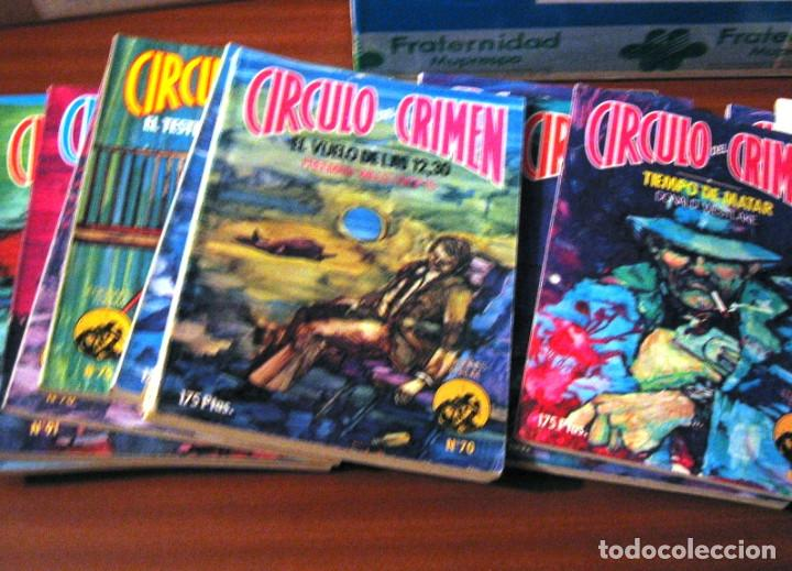 CIRCULO DEL CRIMEN- 14 NOVELAS- 1983 (Libros de segunda mano (posteriores a 1936) - Literatura - Narrativa - Terror, Misterio y Policíaco)