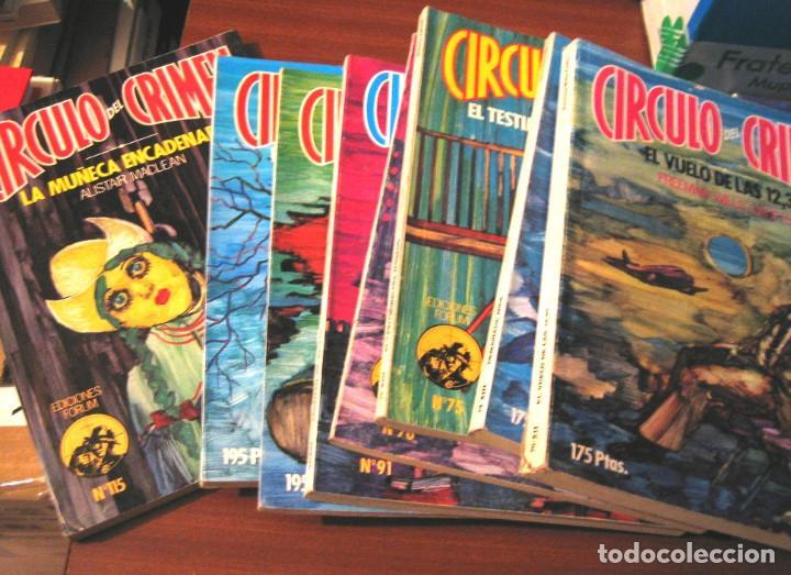 Libros de segunda mano: CIRCULO DEL CRIMEN- 14 novelas- 1983 - Foto 2 - 75138735