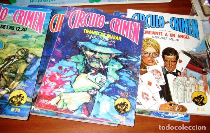 Libros de segunda mano: CIRCULO DEL CRIMEN- 14 novelas- 1983 - Foto 3 - 75138735