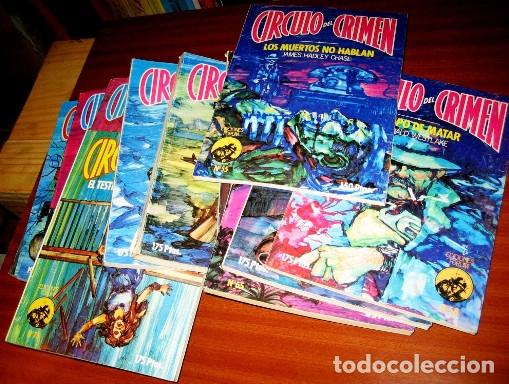 Libros de segunda mano: CIRCULO DEL CRIMEN- 14 novelas- 1983 - Foto 5 - 75138735
