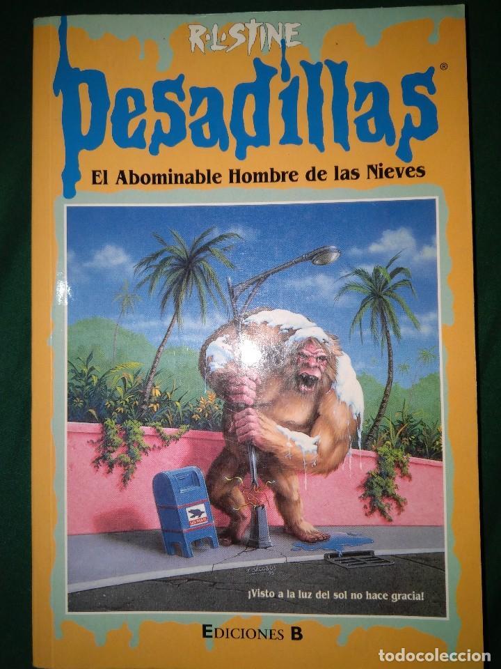 Libros de segunda mano: LOTE 7 NOVELAS DE PESADILLAS R. L. STINE SERIE 2000 EL HOMBRE LOBO MELODIA SINIESTRA, ETC - Foto 2 - 75302995