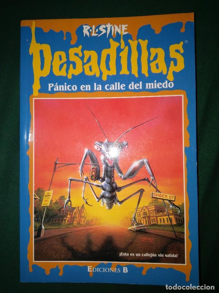 Libros de segunda mano: LOTE 7 NOVELAS DE PESADILLAS R. L. STINE SERIE 2000 EL HOMBRE LOBO MELODIA SINIESTRA, ETC - Foto 3 - 75302995