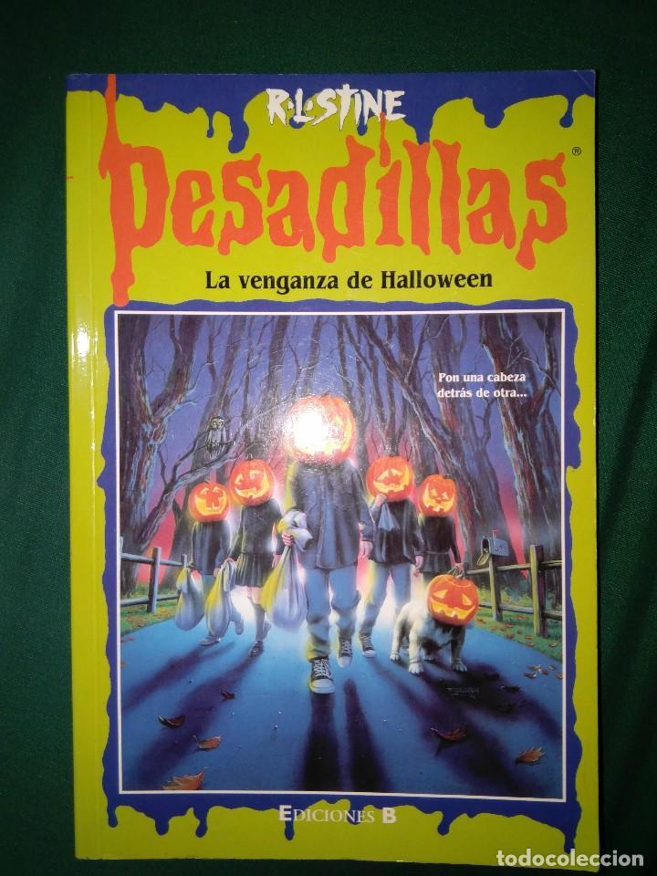 Libros de segunda mano: LOTE 7 NOVELAS DE PESADILLAS R. L. STINE SERIE 2000 EL HOMBRE LOBO MELODIA SINIESTRA, ETC - Foto 4 - 75302995