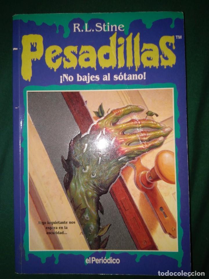 Libros de segunda mano: LOTE 7 NOVELAS DE PESADILLAS R. L. STINE SERIE 2000 EL HOMBRE LOBO MELODIA SINIESTRA, ETC - Foto 5 - 75302995