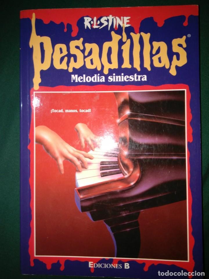 Libros de segunda mano: LOTE 7 NOVELAS DE PESADILLAS R. L. STINE SERIE 2000 EL HOMBRE LOBO MELODIA SINIESTRA, ETC - Foto 6 - 75302995