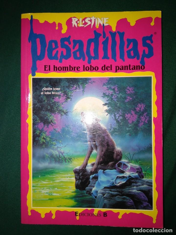 Libros de segunda mano: LOTE 7 NOVELAS DE PESADILLAS R. L. STINE SERIE 2000 EL HOMBRE LOBO MELODIA SINIESTRA, ETC - Foto 7 - 75302995
