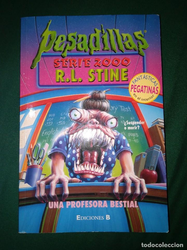 Libros de segunda mano: LOTE 7 NOVELAS DE PESADILLAS R. L. STINE SERIE 2000 EL HOMBRE LOBO MELODIA SINIESTRA, ETC - Foto 8 - 75302995