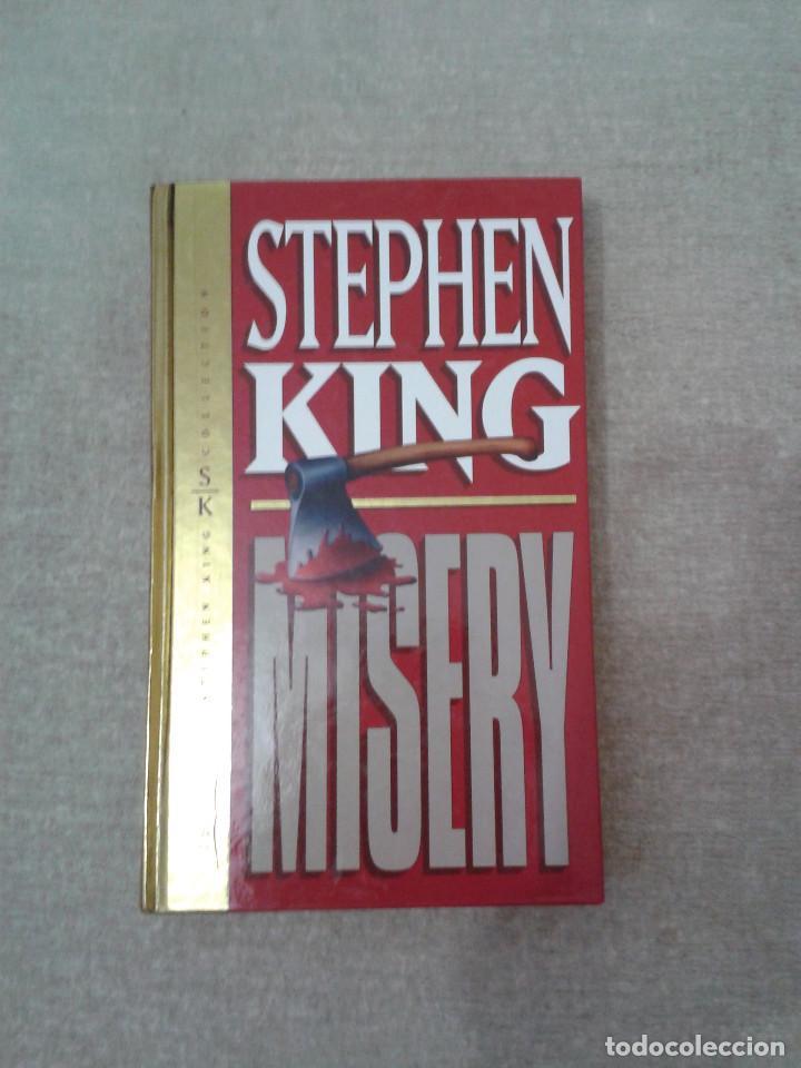 MISERY - STEPHEN KING - EDICIÓN DE 1998 - TAPA DURA (Libros de segunda mano (posteriores a 1936) - Literatura - Narrativa - Terror, Misterio y Policíaco)