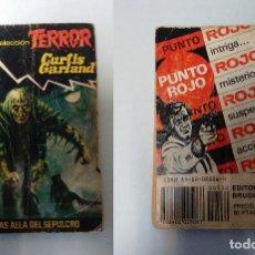 Libros de segunda mano: BOLSILIBROS BRUGUERA - TERROR - MAS ALLA DEL SEPULCRO - CURTIS GARLAND. Lote 76949905