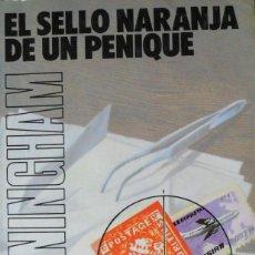 Libros de segunda mano: EL SELLO NARANJA DE UN PENIQUE. E.V. CUNNINGHAM. UN NUEVO CASO MASUTO.. Lote 77208305