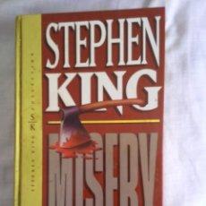 Libros de segunda mano: STEPHEN KING - MISERY. Lote 77894421