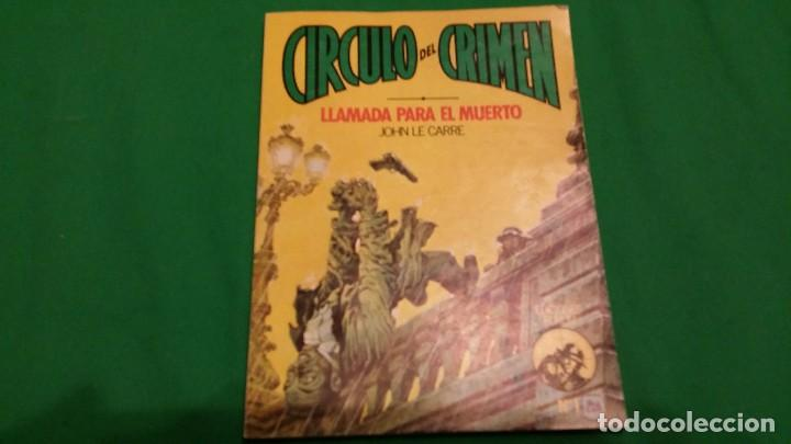 Libros de segunda mano: Lote Circulo del Crimen – Numeros 1, 2 y 3 – Año 1982 – Ediciones Forum - Foto 2 - 78548209