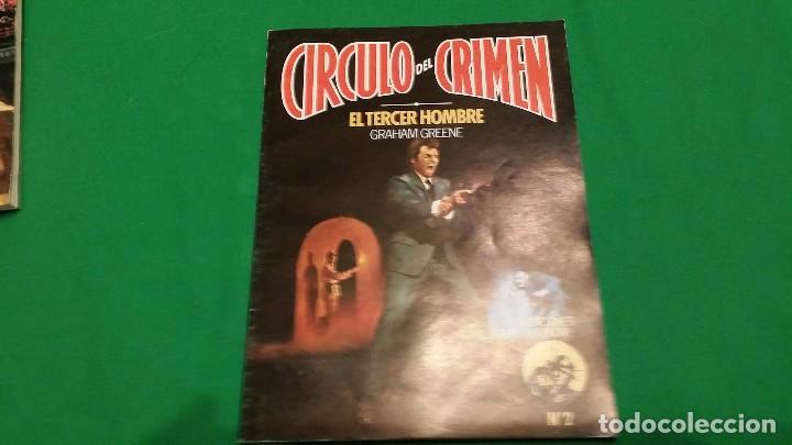 Libros de segunda mano: Lote Circulo del Crimen – Numeros 1, 2 y 3 – Año 1982 – Ediciones Forum - Foto 3 - 78548209