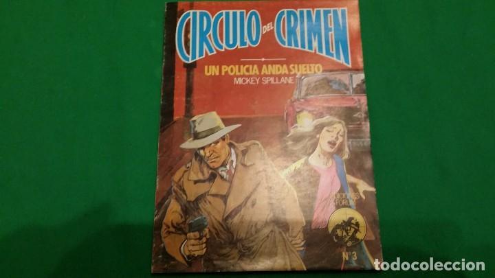 Libros de segunda mano: Lote Circulo del Crimen – Numeros 1, 2 y 3 – Año 1982 – Ediciones Forum - Foto 4 - 78548209