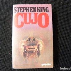 Libros de segunda mano: STEPHEN KING----CUJO. Lote 80726538