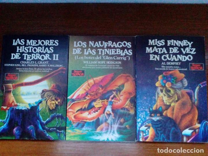 Libros de segunda mano: Coleccion completa Super Terror de Martinez Roca - Los 30 libros - Foto 3 - 80841015