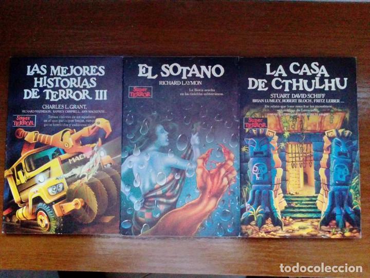 Libros de segunda mano: Coleccion completa Super Terror de Martinez Roca - Los 30 libros - Foto 4 - 80841015