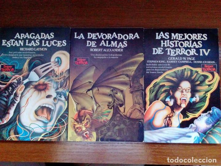 Libros de segunda mano: Coleccion completa Super Terror de Martinez Roca - Los 30 libros - Foto 5 - 80841015