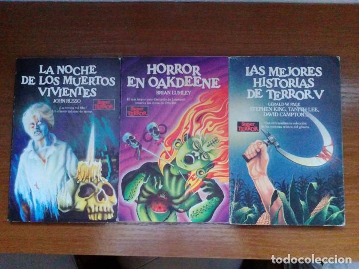 Libros de segunda mano: Coleccion completa Super Terror de Martinez Roca - Los 30 libros - Foto 6 - 80841015