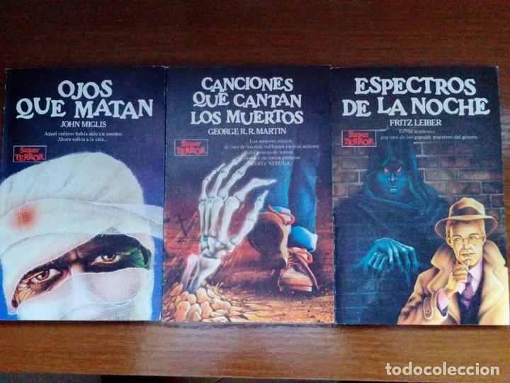 Libros de segunda mano: Coleccion completa Super Terror de Martinez Roca - Los 30 libros - Foto 7 - 80841015