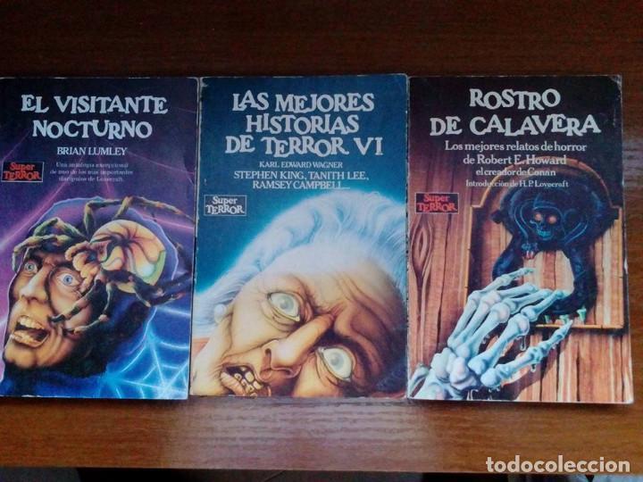 Libros de segunda mano: Coleccion completa Super Terror de Martinez Roca - Los 30 libros - Foto 8 - 80841015