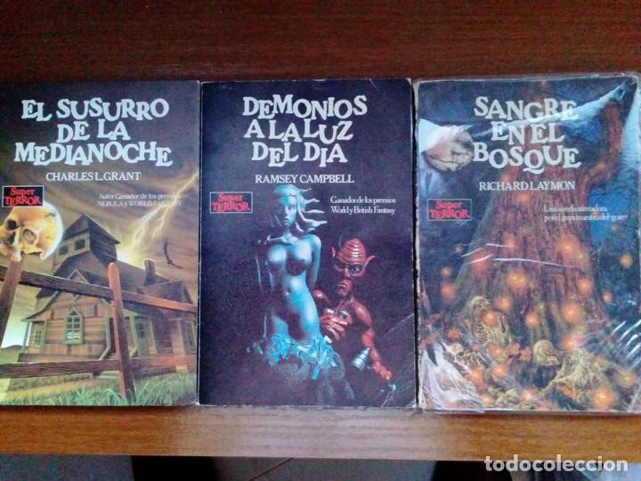Libros de segunda mano: Coleccion completa Super Terror de Martinez Roca - Los 30 libros - Foto 10 - 80841015