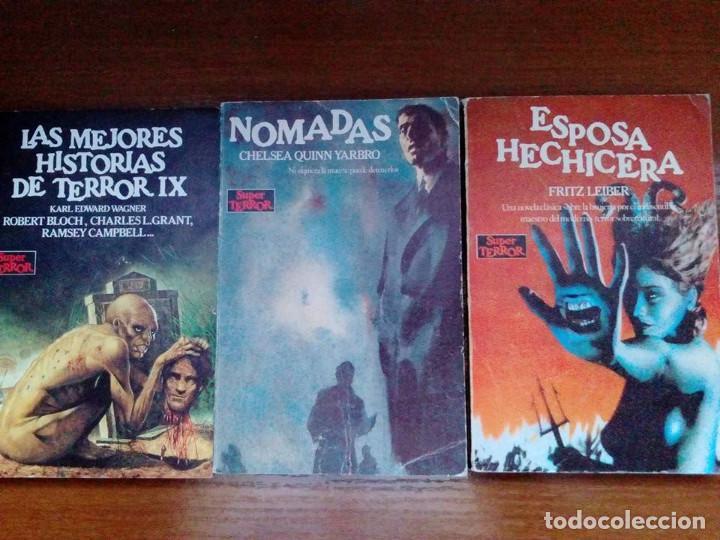 Libros de segunda mano: Coleccion completa Super Terror de Martinez Roca - Los 30 libros - Foto 11 - 80841015