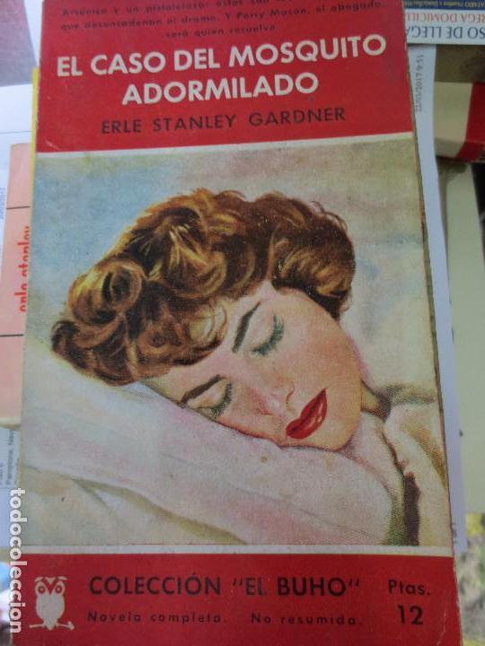 EL CASO DEL MOSQUITO ADORMILADO ERLE STANLY GARDNER AÑO 1958 (Libros de segunda mano (posteriores a 1936) - Literatura - Narrativa - Terror, Misterio y Policíaco)