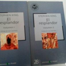 Libros de segunda mano: EL RESPLANDOR, DE STEPHEN KING. . Lote 81202240
