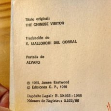 Libros de segunda mano: EL VISITANTE CHINO, DE JAMES EASTWOOD. Lote 81705844