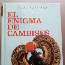 Libros de segunda mano: EL ENIGMA DE CAMBISES. Lote 81802920
