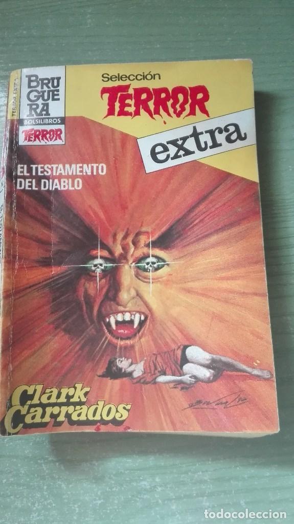 RARO BOLSILIBRO EXTRA SELECCION DEL TERROR DE 189 PAGINAS (Libros de segunda mano (posteriores a 1936) - Literatura - Narrativa - Terror, Misterio y Policíaco)
