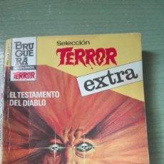 Libros de segunda mano: RARO BOLSILIBRO EXTRA SELECCION DEL TERROR DE 189 PAGINAS. Lote 82262052